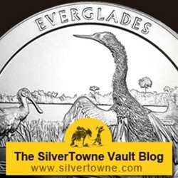 2014 P Everglades National Park 5oz Silver Coins