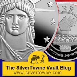 Lady Liberty .999 Silver Medallion – New from the SilverTowne Mint