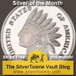 Indian Head Cent Replica 1oz .999 Silver Medallion – The May 2015 Silver of the Month