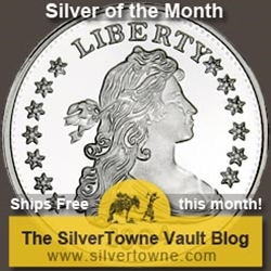 1804 $1 Replica 1oz .999 Silver Medallion – The July 2015 Silver of the Month