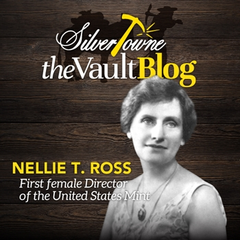 Women's History Month Spotlight: Nellie Tayloe Ross - 1st Woman Director of the U.S. Mint
