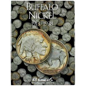 Harris 1913-1938 Buffalo Nickel Folder