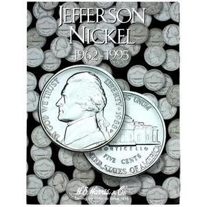 Harris 1962-1995 Jefferson Nickel Folder