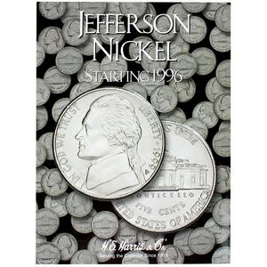 Harris 1996-2002 Jefferson Nickel Folder