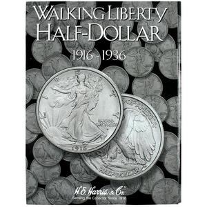 Harris 1916-1936 Walking Liberty Half Dollar No. 1 Folder