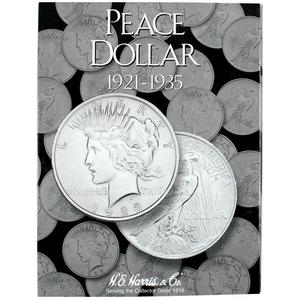 Harris 1921-1935 Peace Dollar Folder