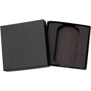 Embossed Black Linen Gift Box for 5oz Bar
