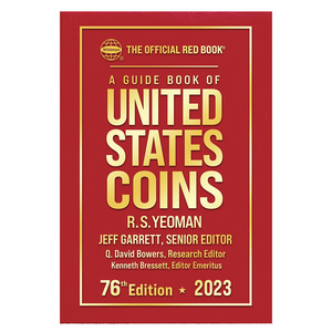 2019 The Official Red Book Guide of U.S. Coins Hard Cover