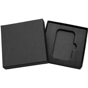 Embossed Black Linen Gift Box for 1oz Bar