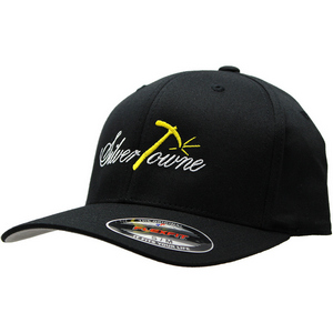 SilverTowne Embroidered Black Flexfit Hat