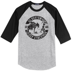 Keep Stacking SilverTowne Baseball Tee