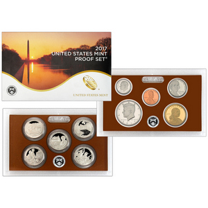 2017 S United States Mint 10pc Clad Proof Set