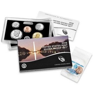 2019 S United States Mint 11pc Silver Proof Set