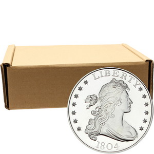 1804 Dollar Replica 1oz .999 Silver Medallion 500pc