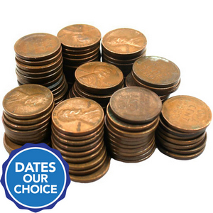 1930s Wheat Cents 100pc Grab Bag Dates Our Choice