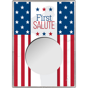 First Salute Gift Holder for Silver American Eagle - Empty