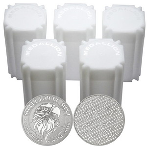 Mighty Eagle 1oz .999 Silver Medallion 100pc