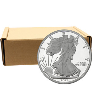 2019 Silver American Eagle Replica 5oz .999 Silver Medallion 100pc