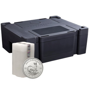 2020 South Africa Silver Krugerrand 1oz BU Coin 500pc Monster Box