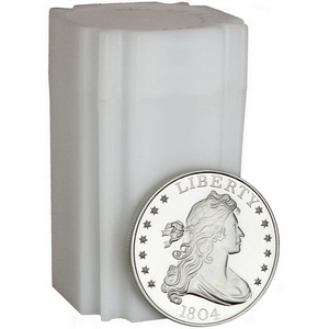 1804 Dollar Replica 1oz .999 Silver Medallion 20pc