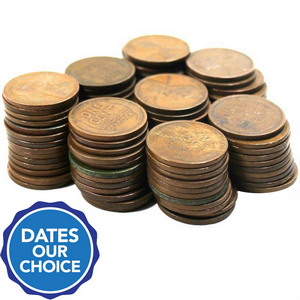 1910s to 1919 100 Piece Wheat Cents Dates Our Choice