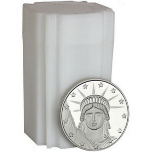 Lady Liberty 1oz .999 Silver Medallion 20pc