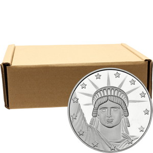 Lady Liberty 1oz .999 Silver Medallion 500pc
