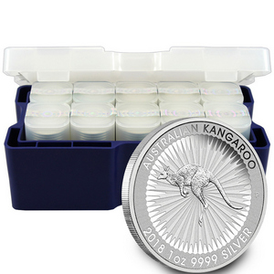 2018 P Australia Silver Kangaroo 1oz BU 250pc Mini-Monster Box