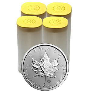 2018 Canada Silver Maple Leaf 1oz BU Coin 100pc