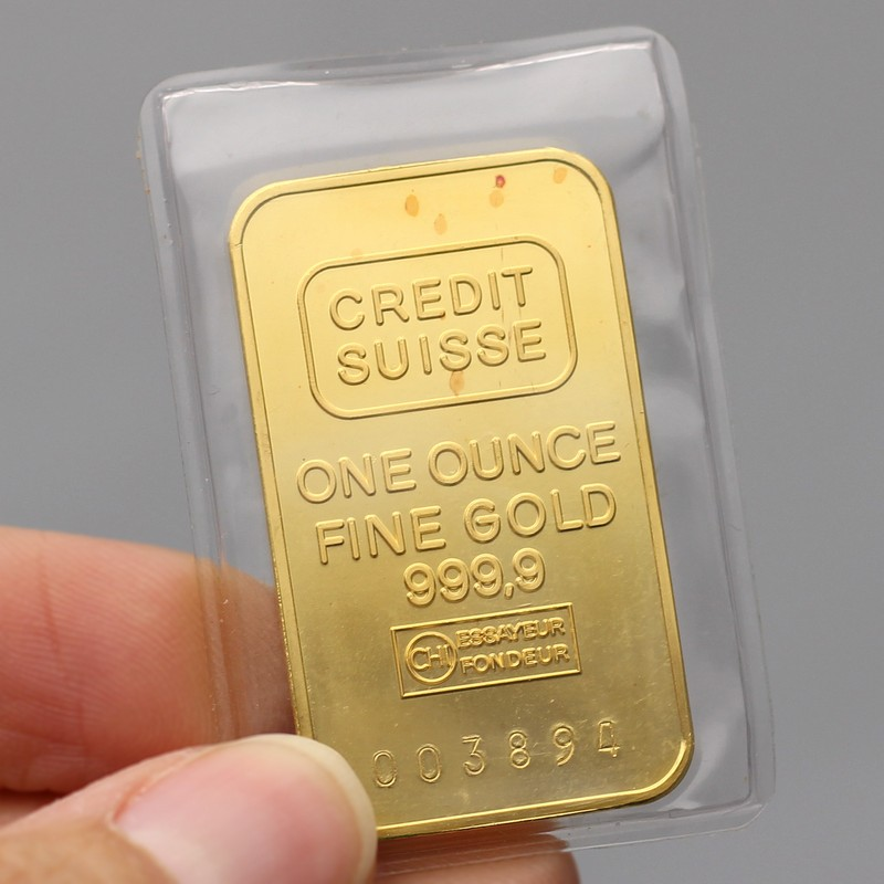 Misc 1oz 9999 Gold Bars Silvertowne
