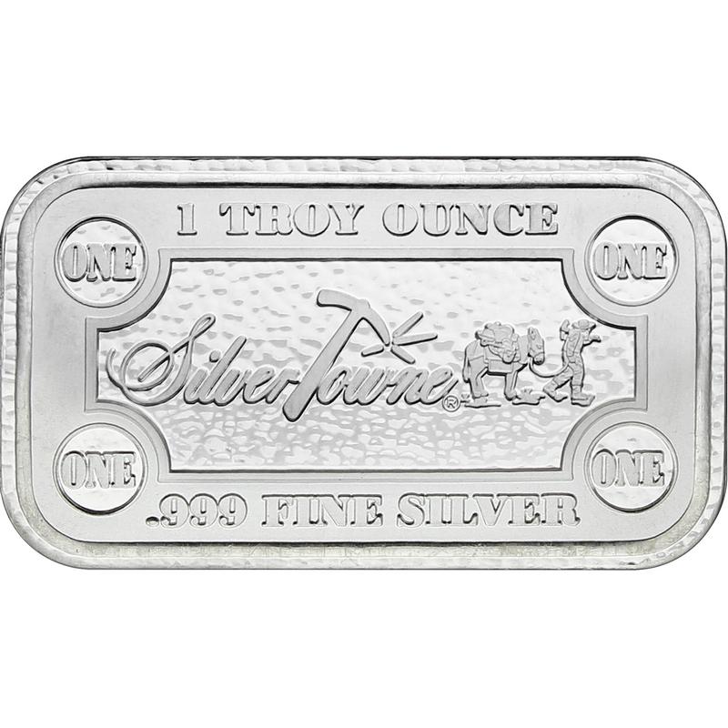 SilverTowne Money Bars 1oz .999 Silver Bar 5pc