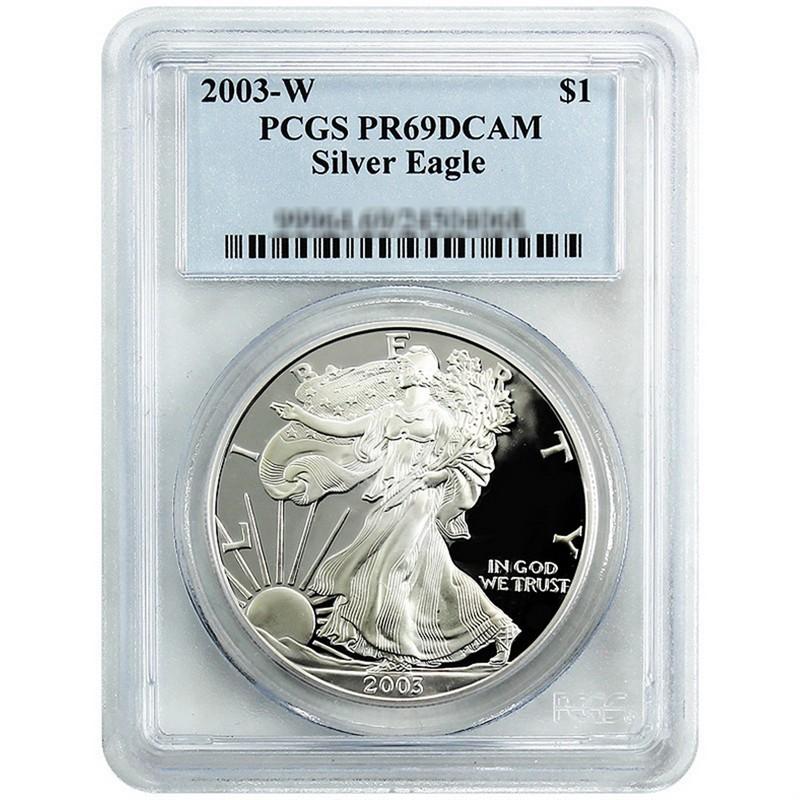 PCGS PR69 DCAM 2003-W American Silver Eagle Proof
