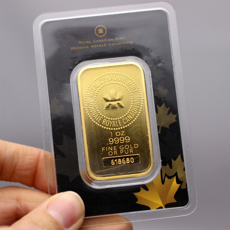 Rcm 1oz 9999 Fine Gold Bar Secondary Market Silvertowne