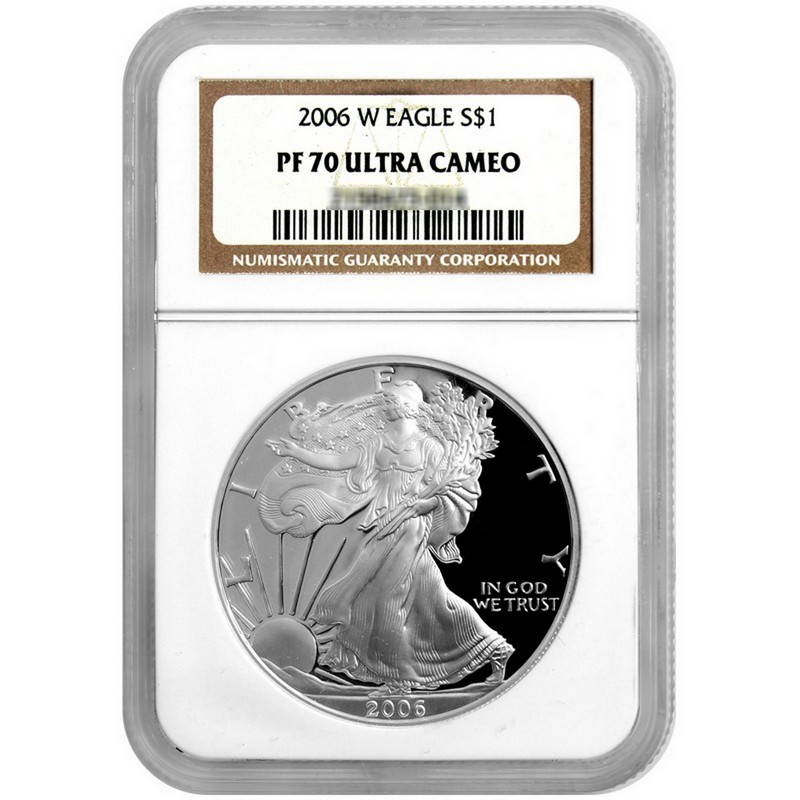 2006-W NGC PF70 Ultra Cameo Proof Silver Eagle