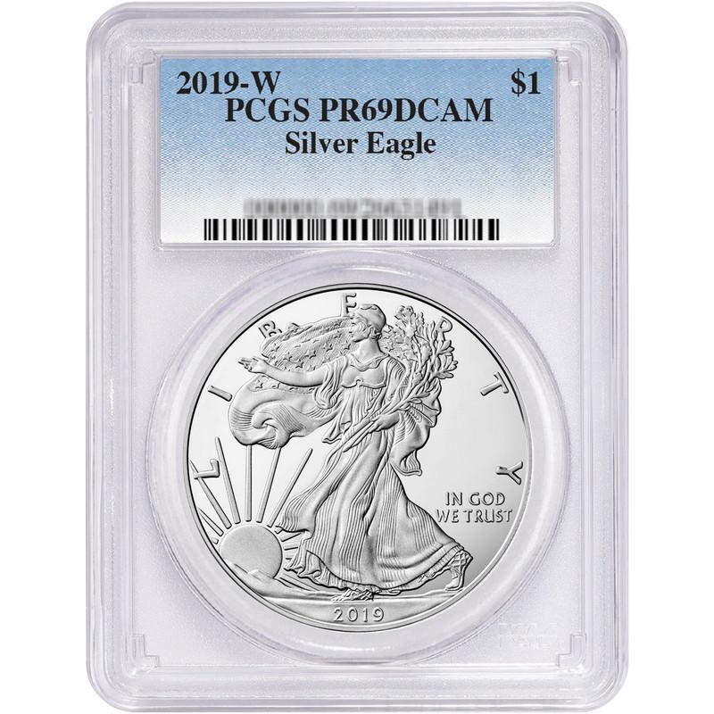PCGS PR69 DCAM 2019-W American Silver Eagle Proof