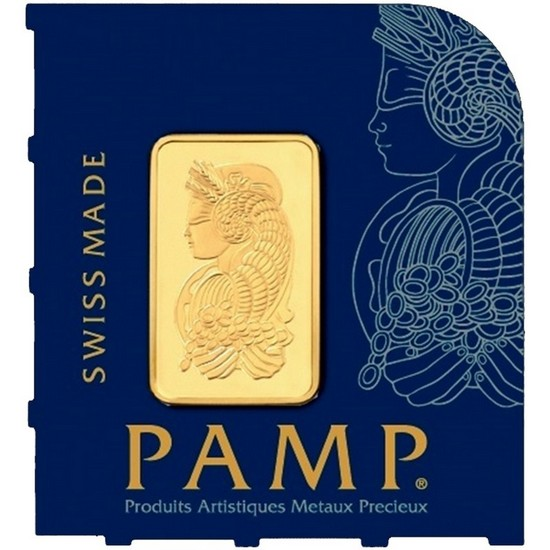 Pamp 25 Gram Gold MultiGram Card