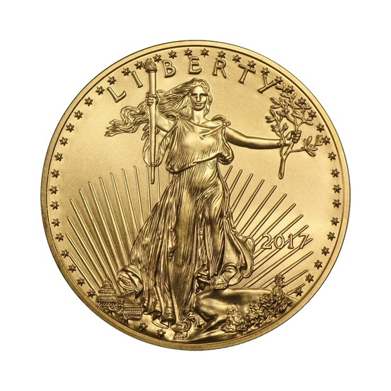 2017 Gold American Eagle Half Ounce BU