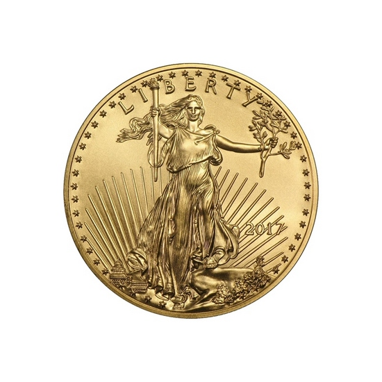 2017 Gold American Eagle Quarter Ounce BU