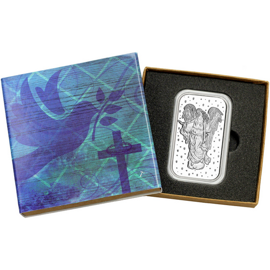 Guardian Angel 1oz .999 Silver Bar