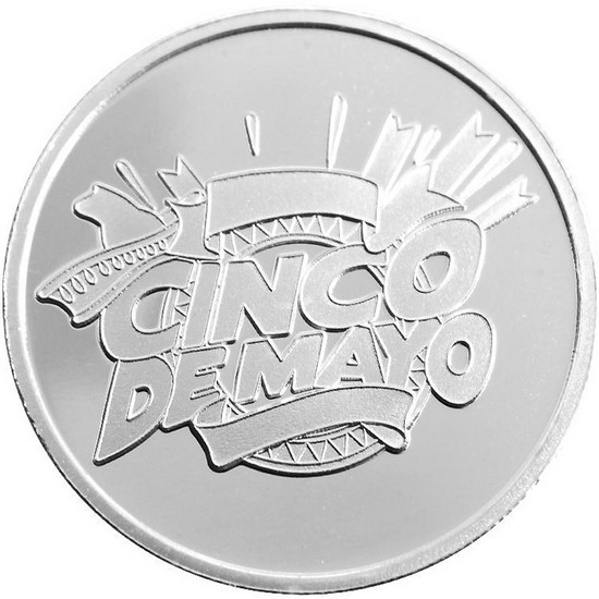 Cinco De Mayo 1oz .999 Silver Medallion