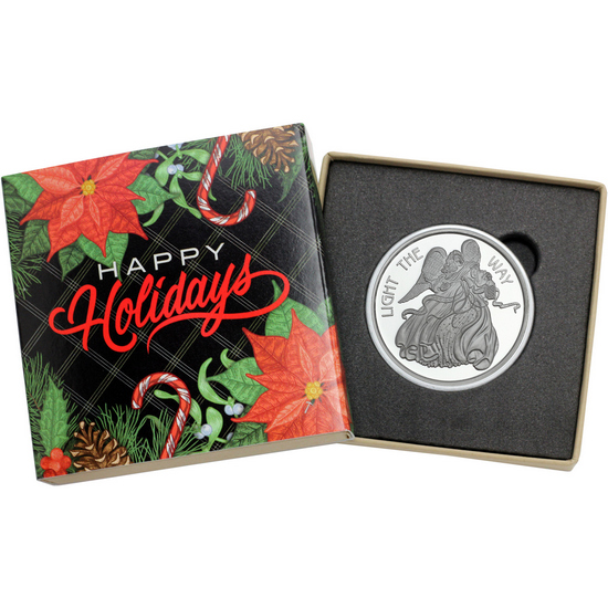 2017 Rejoice Angel 1oz .999 Silver Bar