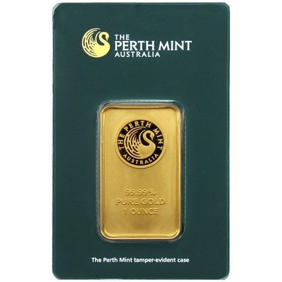 Australian Perth Mint 1oz Gold Bar