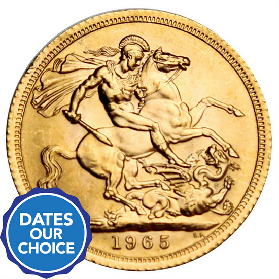 Great Britain Gold Sovereign Date Our Choice