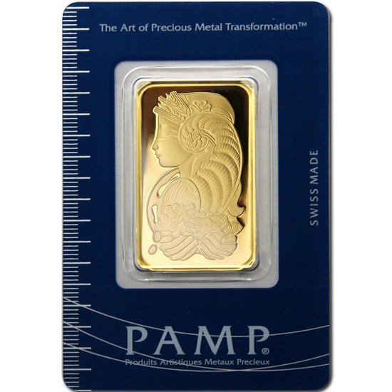 Pamp Suisse Lady Fortuna 1oz Gold Bar