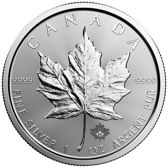 2017 Canada Silver Maple Leaf 1oz BU