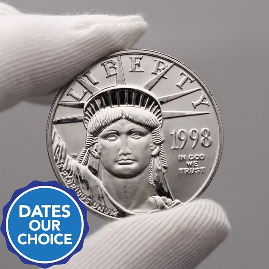 Platinum American Eagle 1oz Date Our Choice