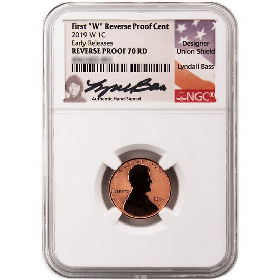 2019 W Proof Lincoln Penny Cent Comm NGC PF 70 ER