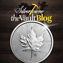 New Release! 2019 Canadian Silver Maple Leaf!