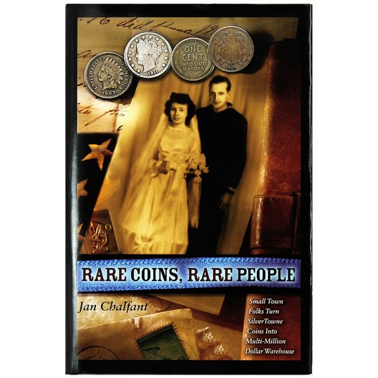 Rare Coins Rare People - Biography of Leon and Ruhama Hendrickson - Hard Cover