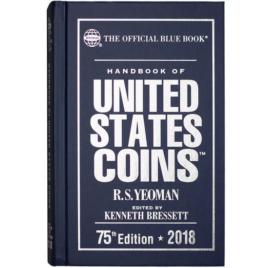 The Official 2017 Blue Book of United States Coins Hardcover